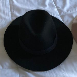 Black wool Panama hat from Zara size M